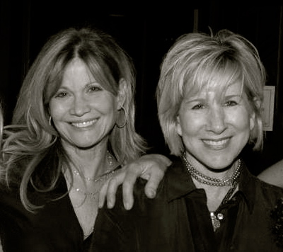 "Markie Post and Lori Lieberman at ""About Face"", by Michele Willens and Wendy Kout"