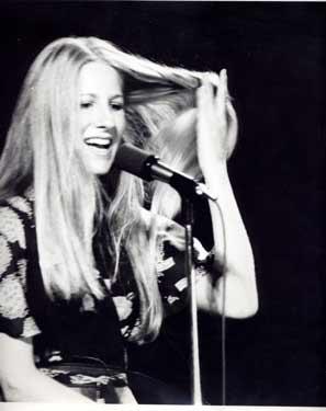 Lori Lieberman at The Bitter End, NYC circa 1972