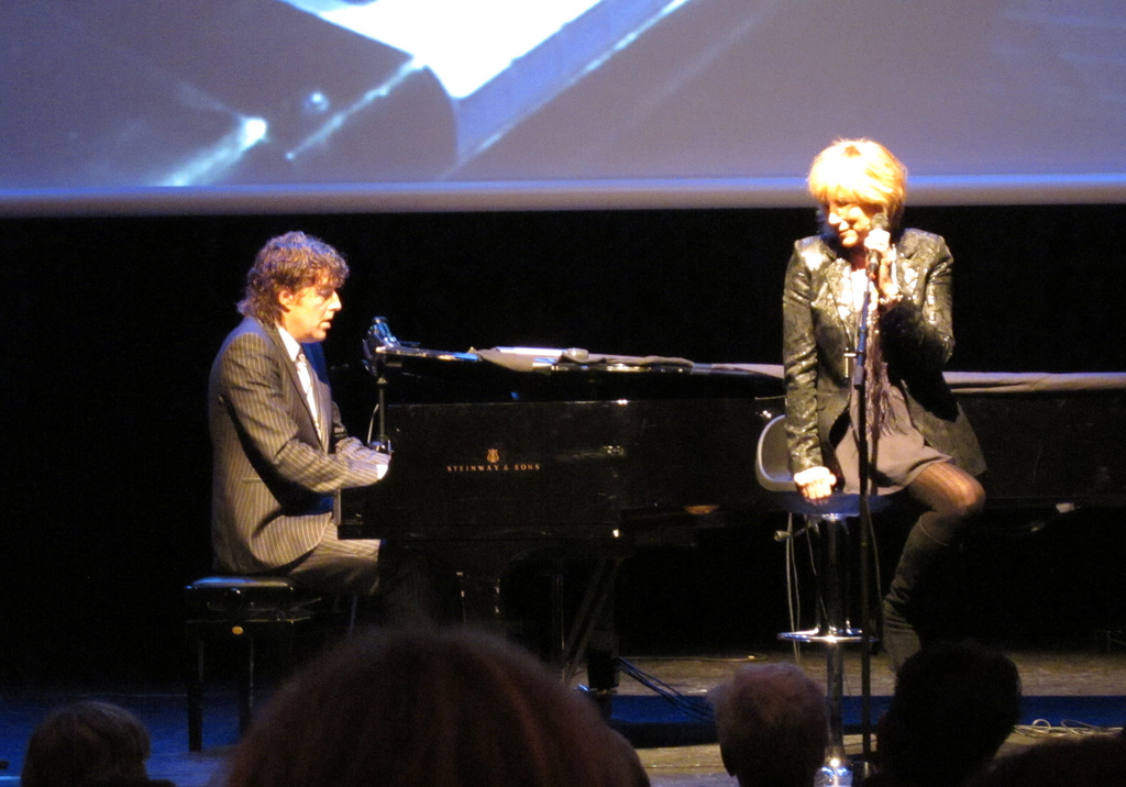 Michiel Borstlap, Lori Lieberman at Jazz International, Rotterdam