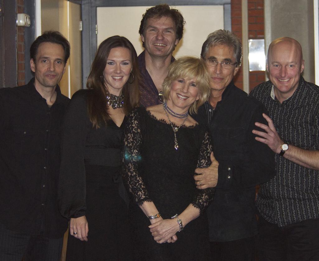 Lori Lieberman with Eugene Ruffolo, Denise Brand, Hein Offermans, Joseph Cali, Jeroen de Rijke, Groningen