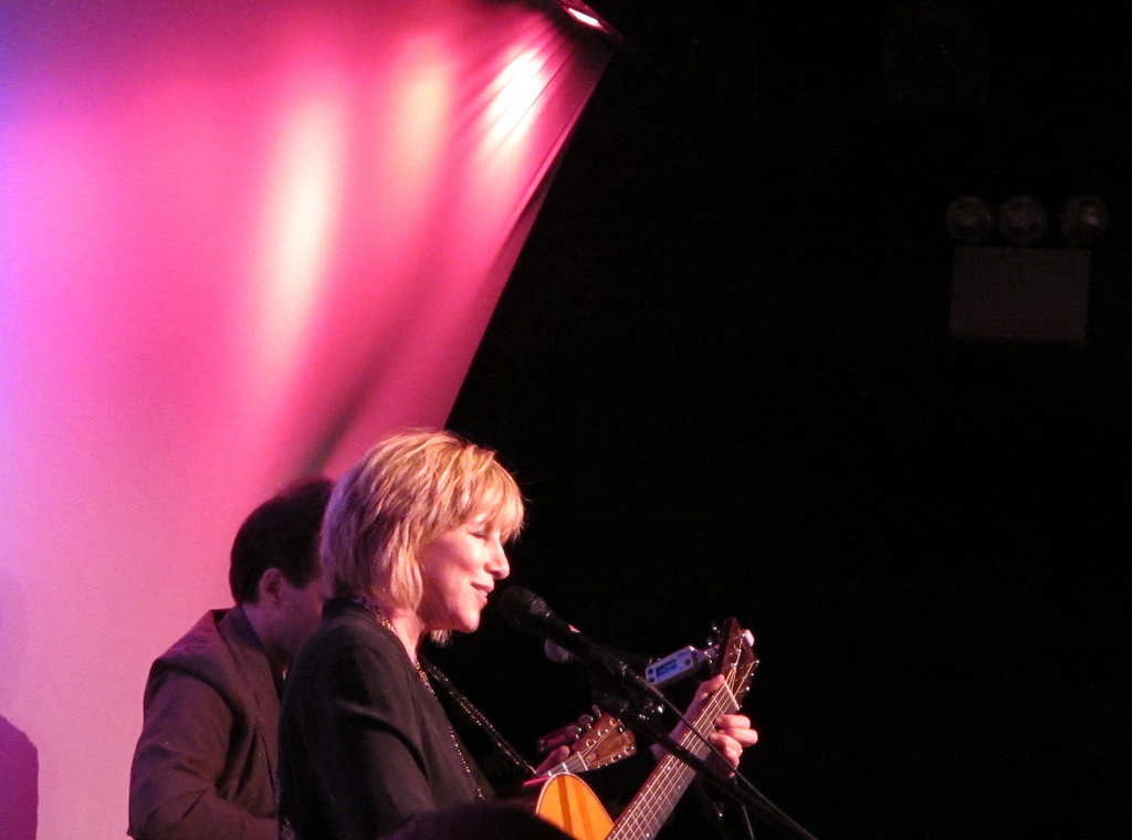 Lori Lieberman in concert, NYC